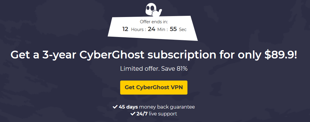 cyberghost free activation key 2018